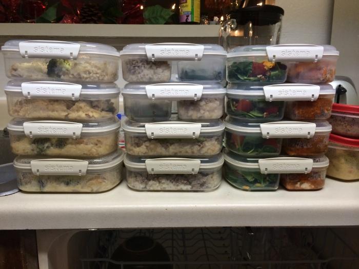 Three days worth of meals!